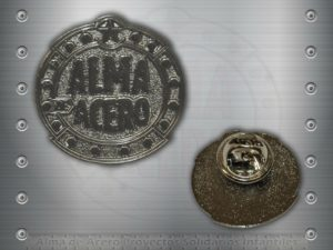 pin metalico almadeacerogandia